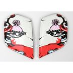 Side Plates for Alliance Krazy Klown Helmet - 0133-0560