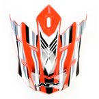 Orange Multi Visor for AFX Helmet - 0132-0671