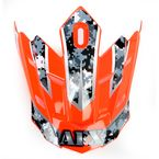 Urban Safety Orange Multi Visor for AFX Helmet - 0132-0674