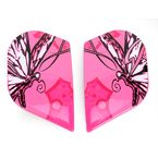 Pink Sideplates for Alliance Chrysalis Helmets - 0133-0658