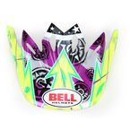 Hot Yellow Visor Kit for Moto 9 Helmets - 2035453