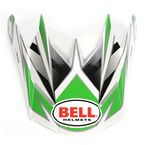 Silver/Green/Black Visor for SX-1 Switch Helmet - 2036797