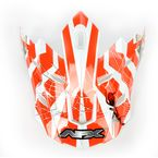 Youth Multi Orange FX17 Visor - 0132-0726