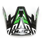 Black/Green/Silver CS-MX Link MC-4 Replacement Visor - 314-949