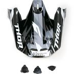 Black Visor Kit for Thor Verge Helmets - 0132-0731