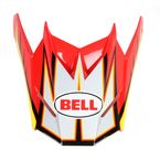 Red/Yellow/White SX-1 Apex Visor - 8003431