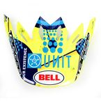 Yellow/Teal/Black Moto-9 Unit Existance Carbon Visor - 8005611