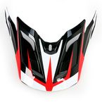 Red/Black/White MX-2 Element Visor - 8005613