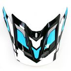 Blue/Black/White MX-2 Quantum Visor  - 8005616