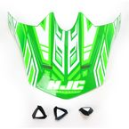 Green/White MC-4 CL-X6 Fulcrum Helmet Visor - 738-949
