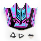 Pink/Blue/Black MC-8 CL-X6 Fulcrum Helmet Visor - 738-989