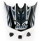 Youth Black/Silver MC-5 CL-XY Fulcrum Helmet Visor - 278-959