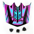 Youth Black/Blue/ Pink MC-8 CL-XY Fulcrum Helmet Visor - 278-989