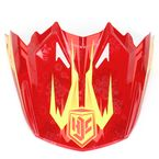 Red/Orange/Yellow MC-1 Visor - 0964-6020-01
