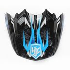 Blue/Black/White MC-2 Visor - 745-929