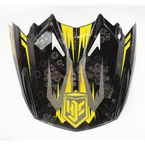 Black/Yellow MC-3 Visor - 0964-6020-03