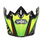 Green/Black/Yellow VFX-W Maelstrom TC-4 Helmet Visor - 0245-6085-04
