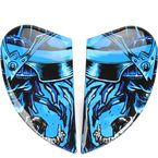 Black/Blue Airmada Shadow Warrior Sideplates - 0133-0842