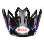 Black/Blue/Red Visor for Moto-9 Airtrix Shards Helmet - 8031067