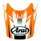 Orange/White/Black Visor for VX-Pro 4 Tip Helmet - 81-1075
