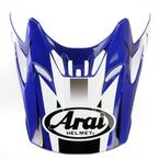 Blue/White/Black Visor for VX-Pro 4 Tip Helmet - 81-1076