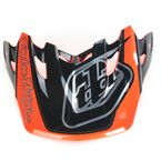 Orange/Blue/Black Team Visor for SE3 Helmet - 152007300