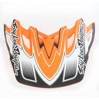 Matte Orange/Black Starbreak Visor for Air Helmet - 153009700
