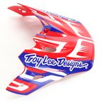 Red/White/Blue Scratch Visor for Air Helmet - 153010430