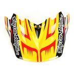 Yellow/Black Scratch Visor for Air Helmet - 153010500