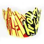 Yellow Skully Visor for Air Helmet - 153011500