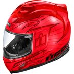 Airframe Lifeform Red Helmet - 0101-4916