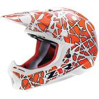 Fluorescent Orange Nemesis Disarray Helmet - 0110-2728