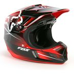 Red Future V4 Helmet - 03519-003-2X