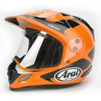 Orange/Black Explore XD4 Helmet