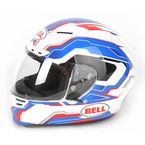 Blue/White/Red Star Spirit Helmet - Convertible To Snow - 7000036