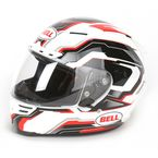 White/Black/Red Star Spirit Helmet - Convertible To Snow - 7000061