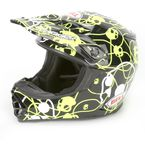 Skull Candy Ribbons MX-2 Helmet - Convertible To Snow - 2036710