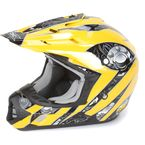 Yellow Multi FX-17 Gear Helmet - 0110-3637