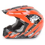 Orange Multi FX-17 Gear Helmet - 0110-3643