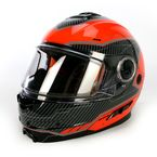 Orange/Black Fuel Modular Helmet  - 14430