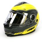 Yellow/Black Fuel Modular Helmet