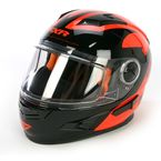 Orange/Black Nitro Helmet - 14432