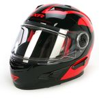 Red/Black Nitro Helmet - 14432