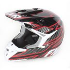 Black/Charcoal/Red X-1 Helmet