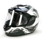 Black/White CS-R2SN Contrast Helmet  - 217-954