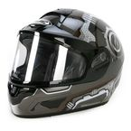 Black/Silver/White CL-16SN Machine Helmet - 923-951