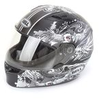 Black/White Winger Qualifier Helmet - 7047846