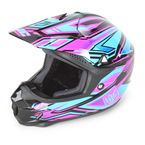 Pink/Blue/Black MC-8 CL-X6 Fulcrum Helmet - 738-986