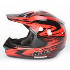 Red/Black MC-1 CS-MX Shattered Helmet - 316-916