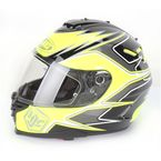 Hi-Vis Yellow/Black/Charcoal MC-3H IS-17 Intake Helmet - 584-936